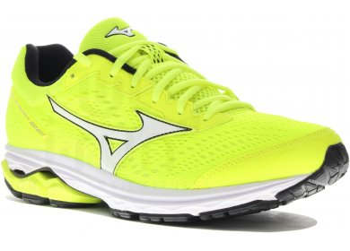 b24a44bc7d1dc Mizuno Wave Rider 22 M homme Jaune or pas cher