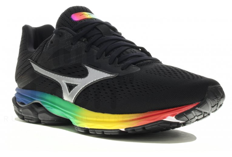 tenis mizuno wave prophecy 6 black 900mah twist
