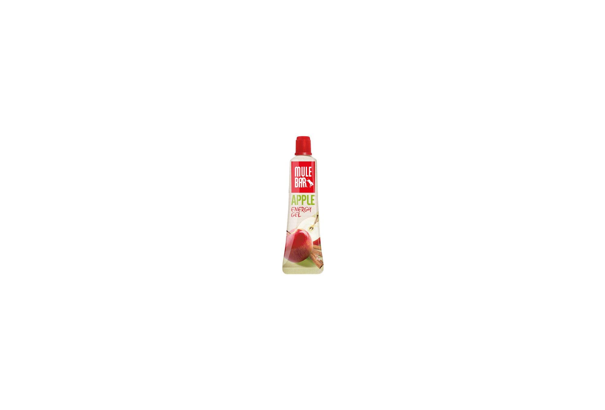 Mulebar Gel Energy Apple Strudel Vegan - Pomme/Cannelle Diététique Gels
