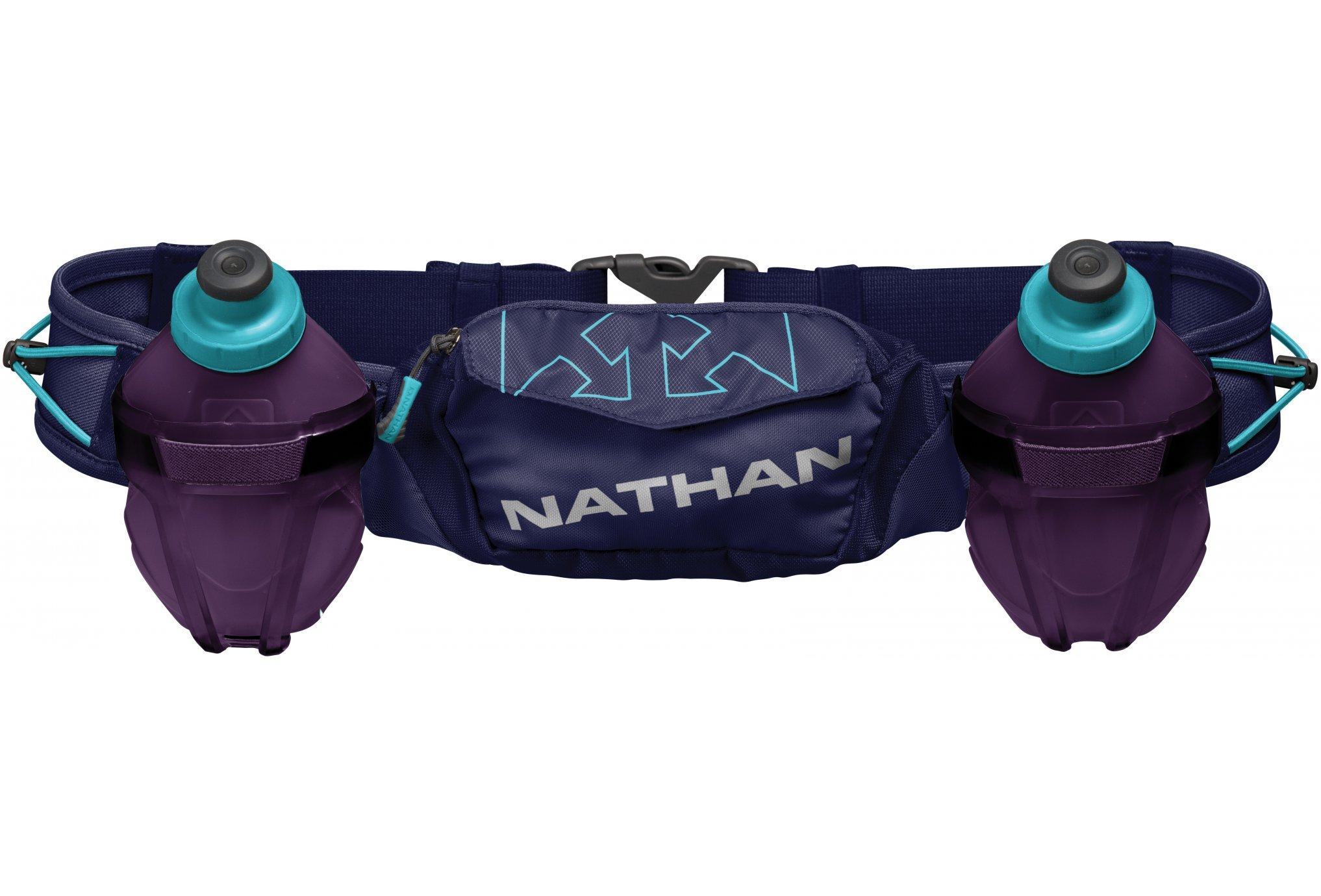 Nathan Ceinture Hydratation Trail Mix Plus 2 600mL Sac hydratation / Gourde