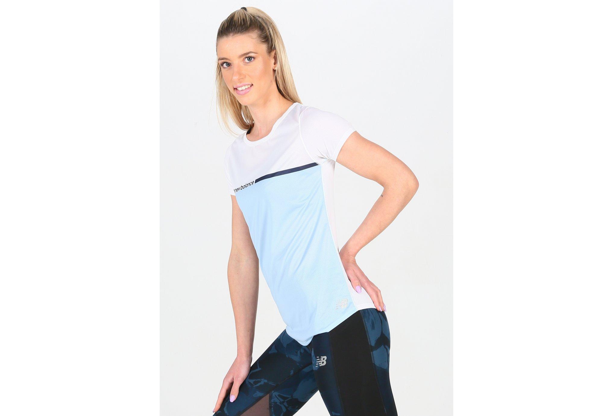 New Balance Accelerate Printed W Diététique Vêtements femme