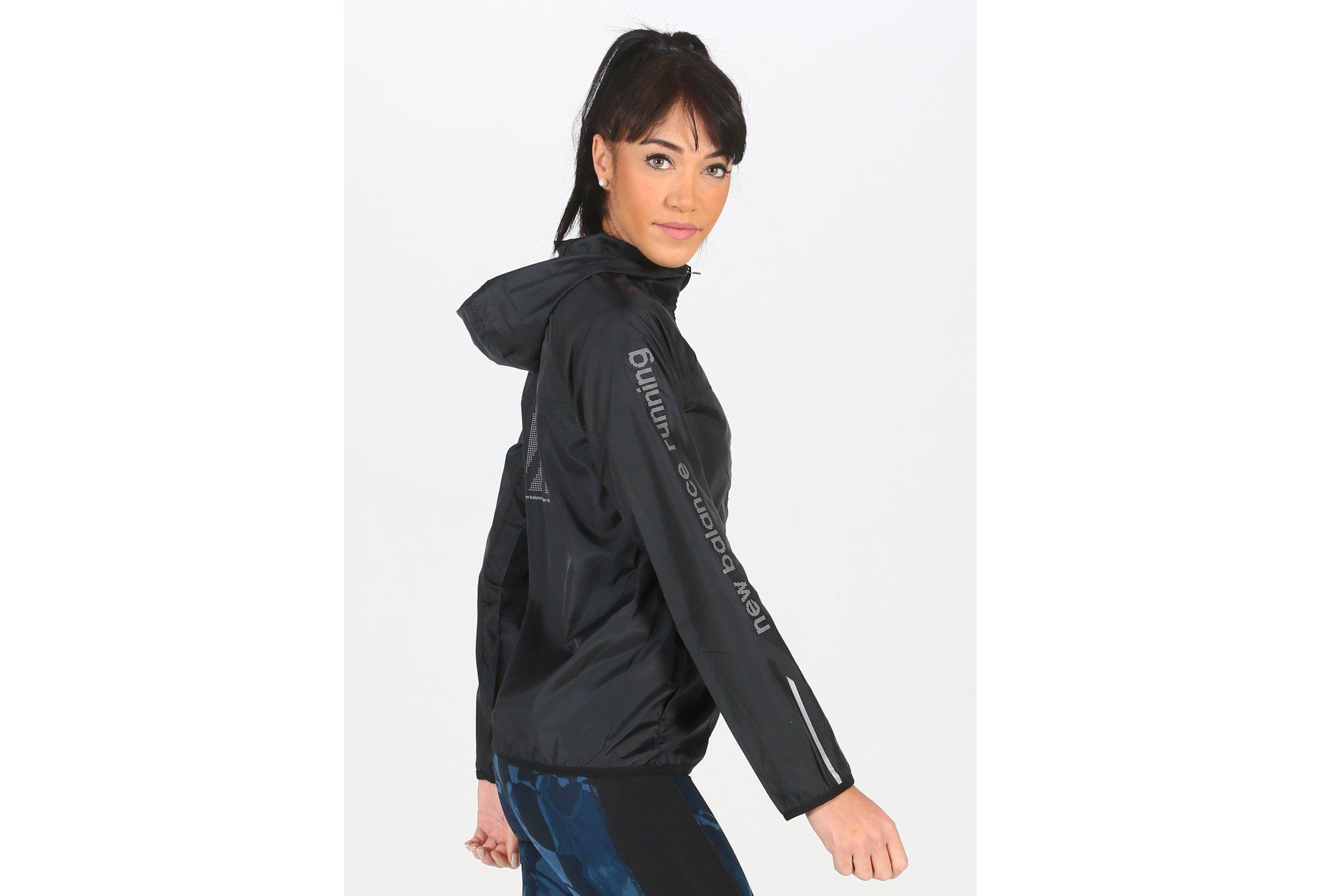 New Balance Accelerate Windcheater Reflective W vêtement running femme