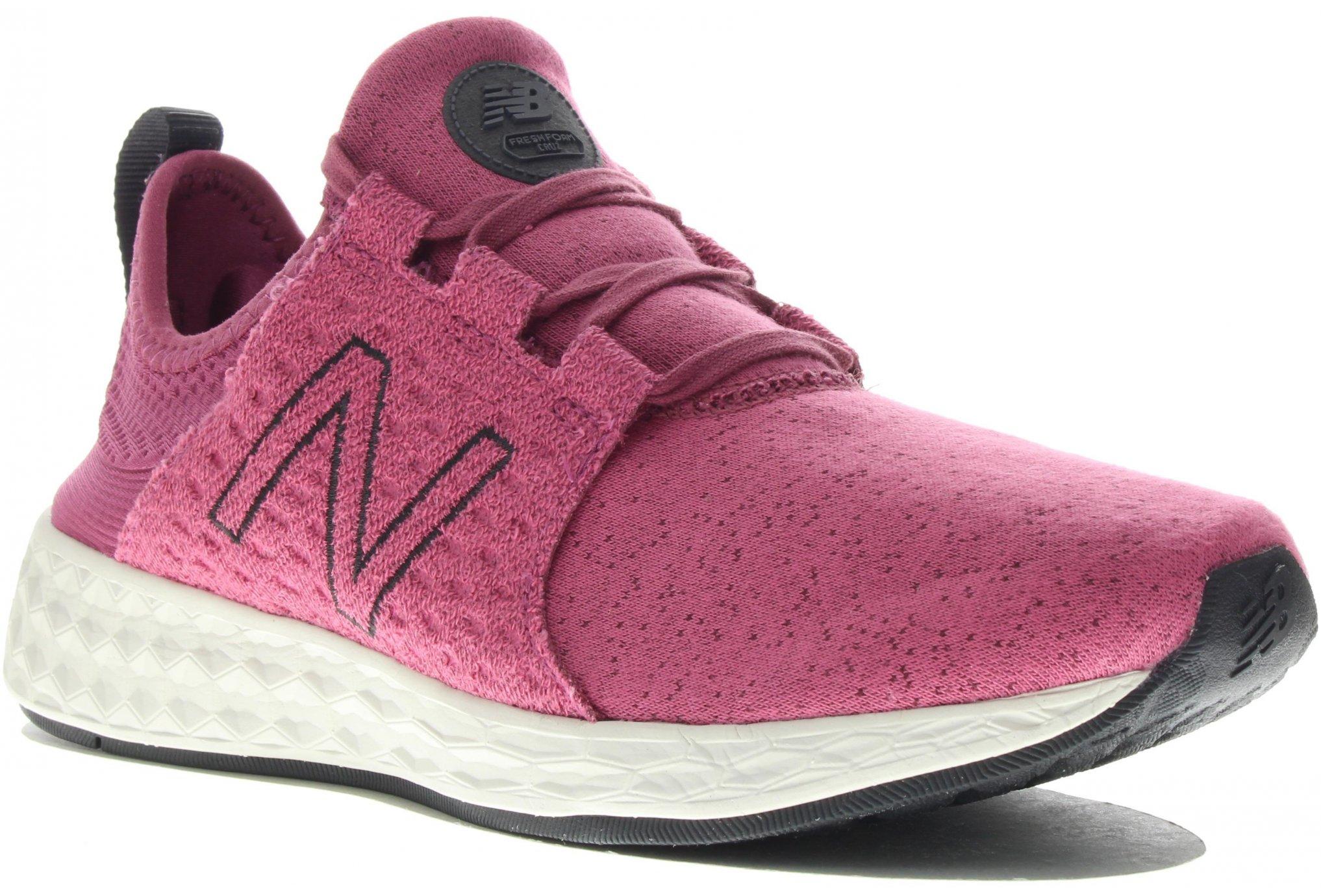 New Balance Fresh Foam Cruz Retro Hoodie W Diététique Chaussures femme