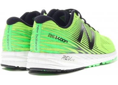 chaussures new balance 1400 v5 vert noir femme