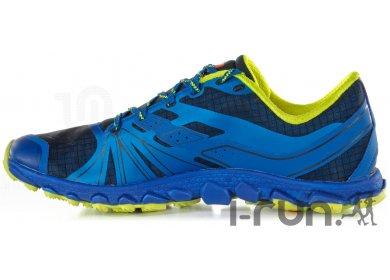 New Balance MT1010 D V2 Minimus Trail Hommes chaussure de course (bleu jaune)