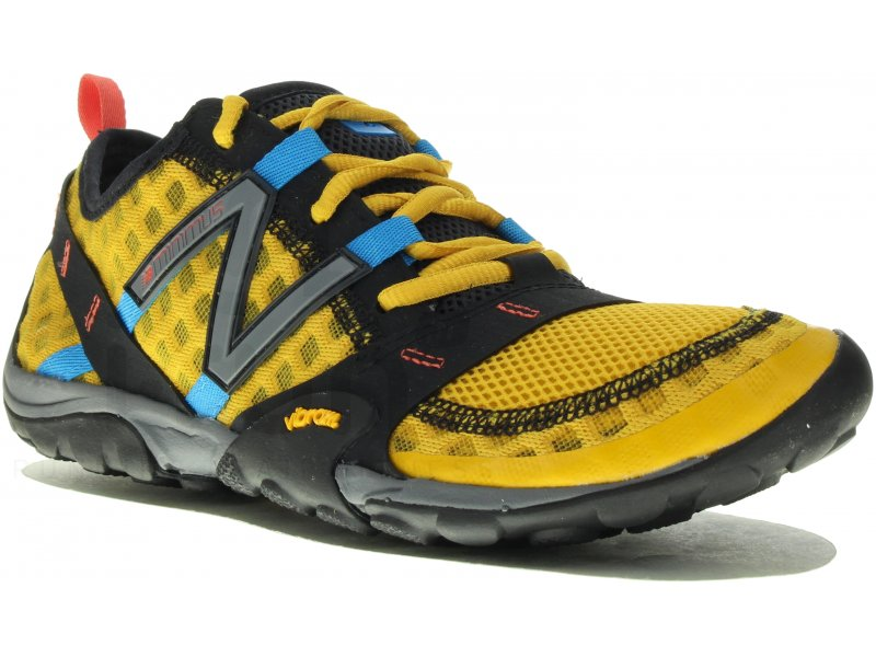 New Balance Minimus Trail 10 M homme Jaune/or pas cher