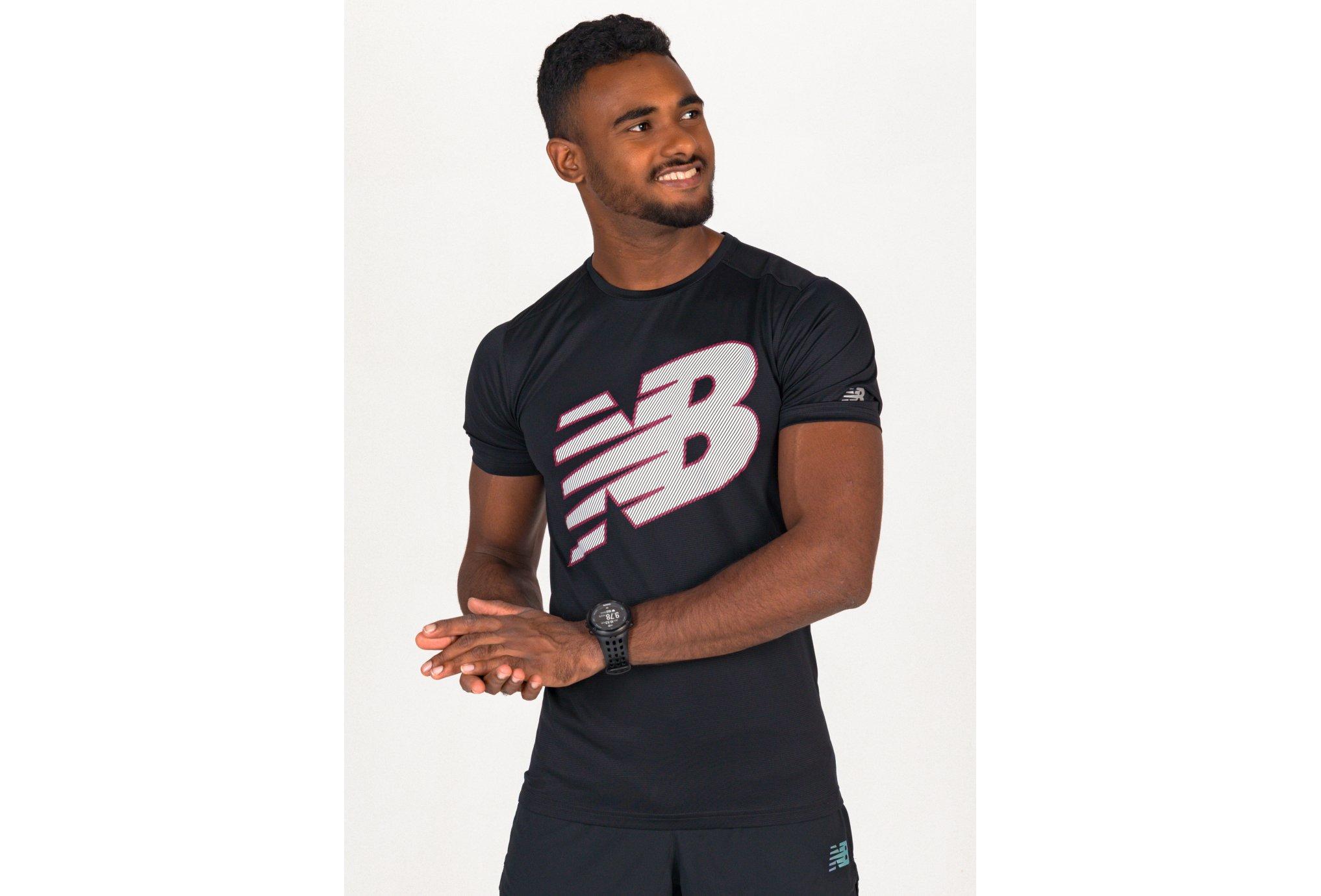 New Balance Printed Accelerate M vêtement running homme
