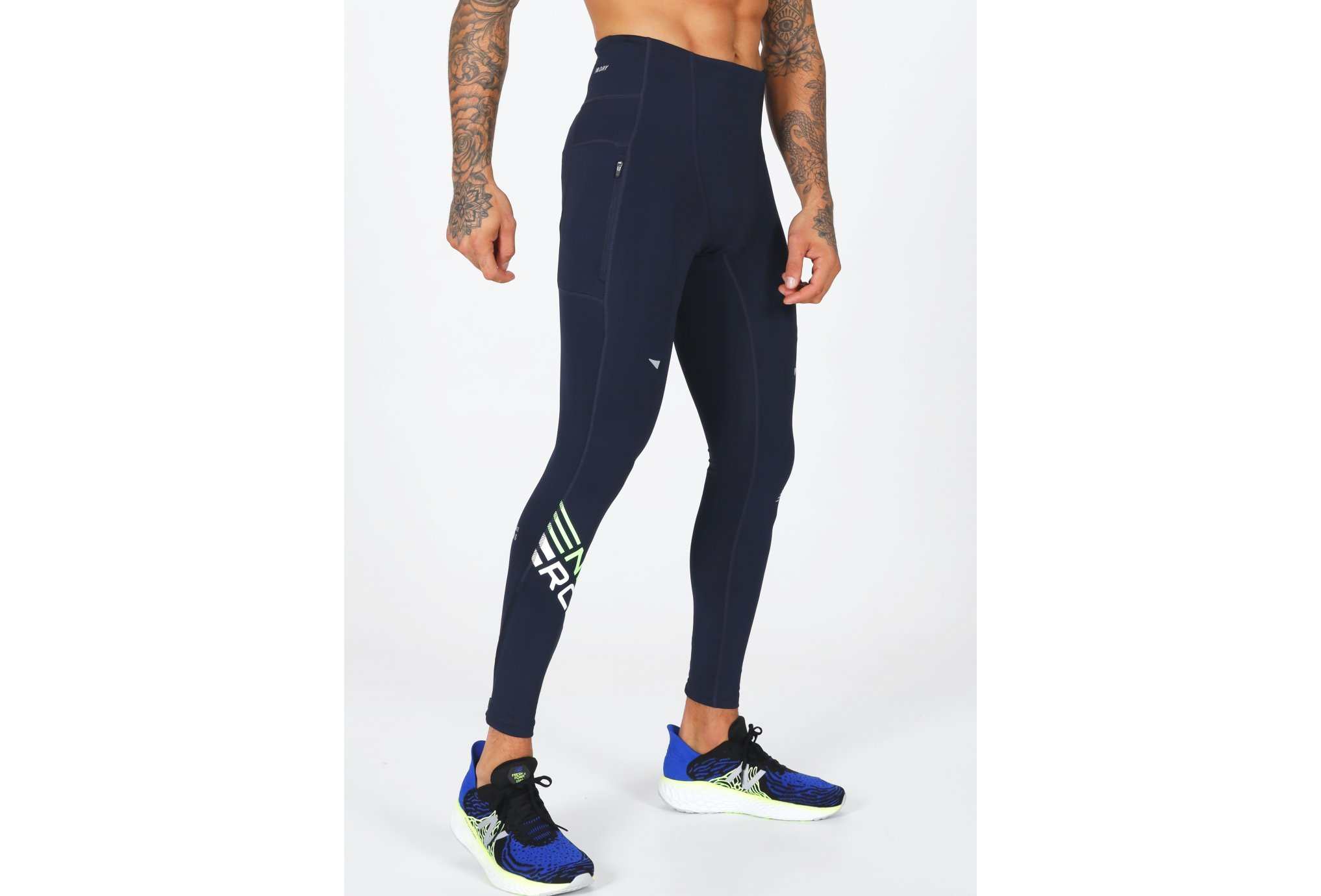 New Balance Printed Impact Run M vêtement running homme