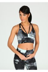 New Balance Printed Strappy Crop Top