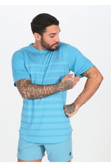 New Balance Camiseta manga corta Q Speed Jacquard