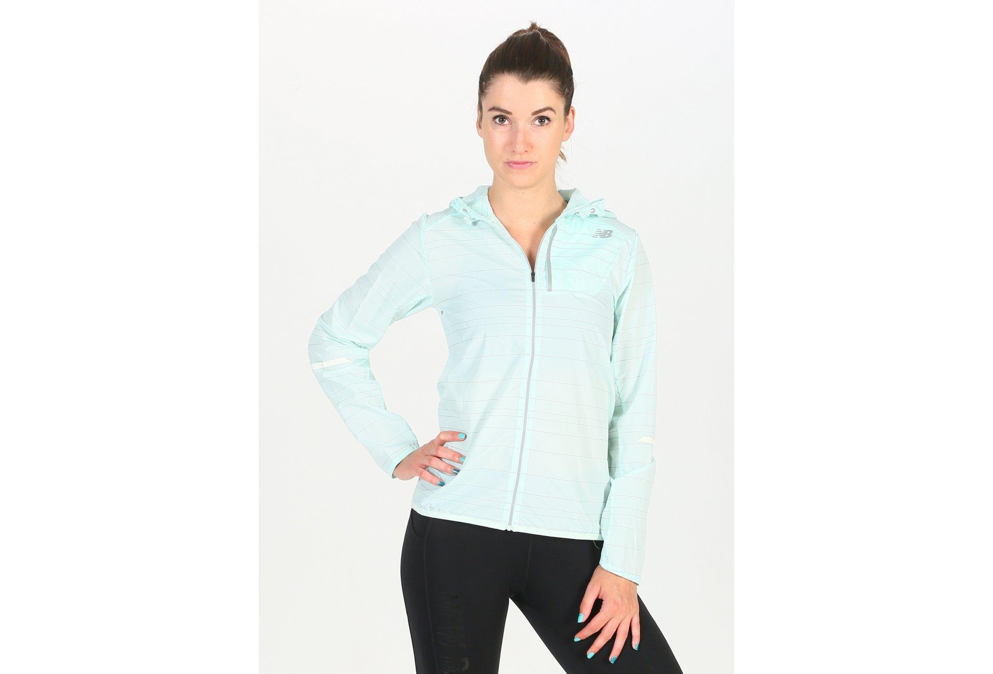 New Balance Reflective Lite Packable W Diététique Vêtements femme