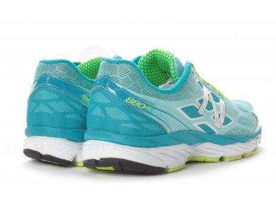 Chaussures de running New Balance 880 V5 W Femme turquoise & jaune