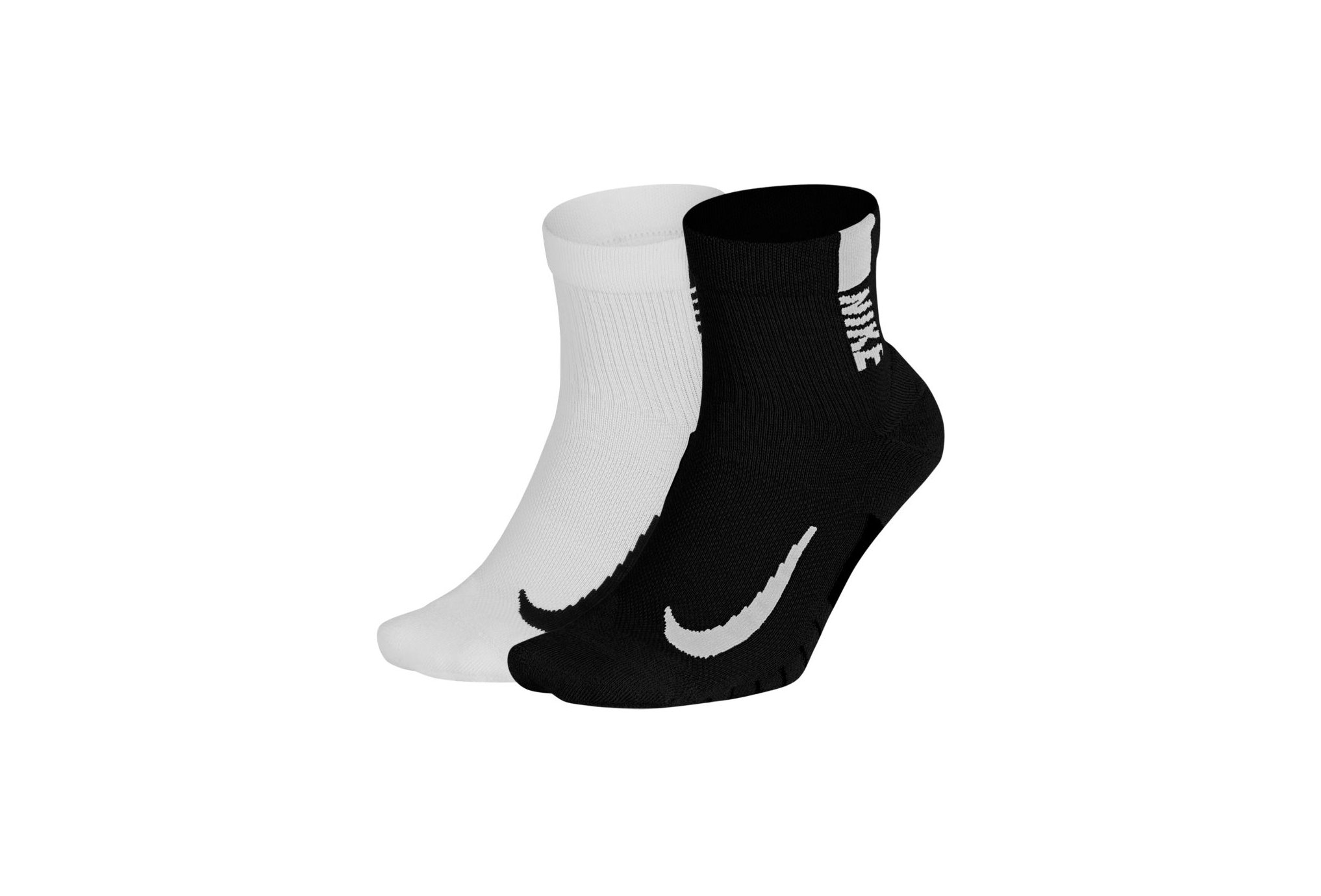 Nike 2 paires Multiplier Ankle Chaussettes