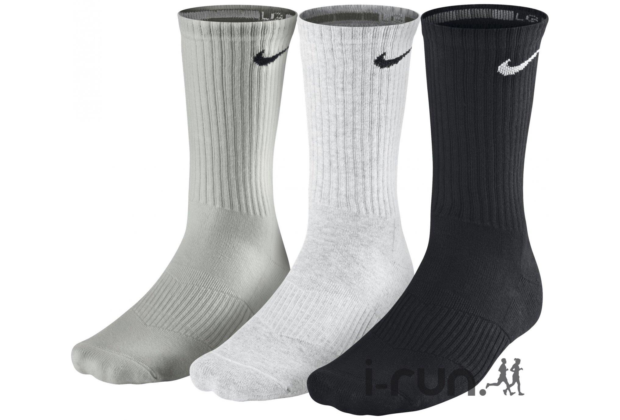 Nike 3 paires Cushion Crew Diététique Accessoires