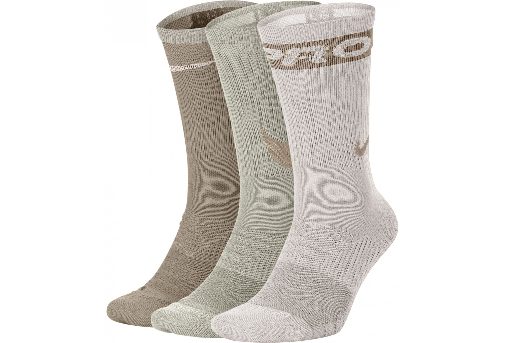 Nike 3 paires Everyday Max Cushion Crew Chaussettes