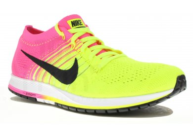 d91f1d12607 Nike Air zoom Flyknit Streak 6 OC M homme Jaune or