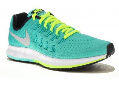 pretty nice 35959 ce8d7 Nike Air Zoom Pegasus 33 GS femme Vert pas cher