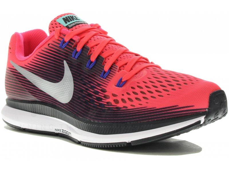 5e6993b002fd Nike Air Zoom Pegasus 34 W femme Rose pas cher