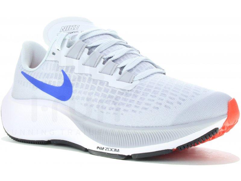 Nike Air Zoom Pegasus 37 GS homme Gris/argent pas cher