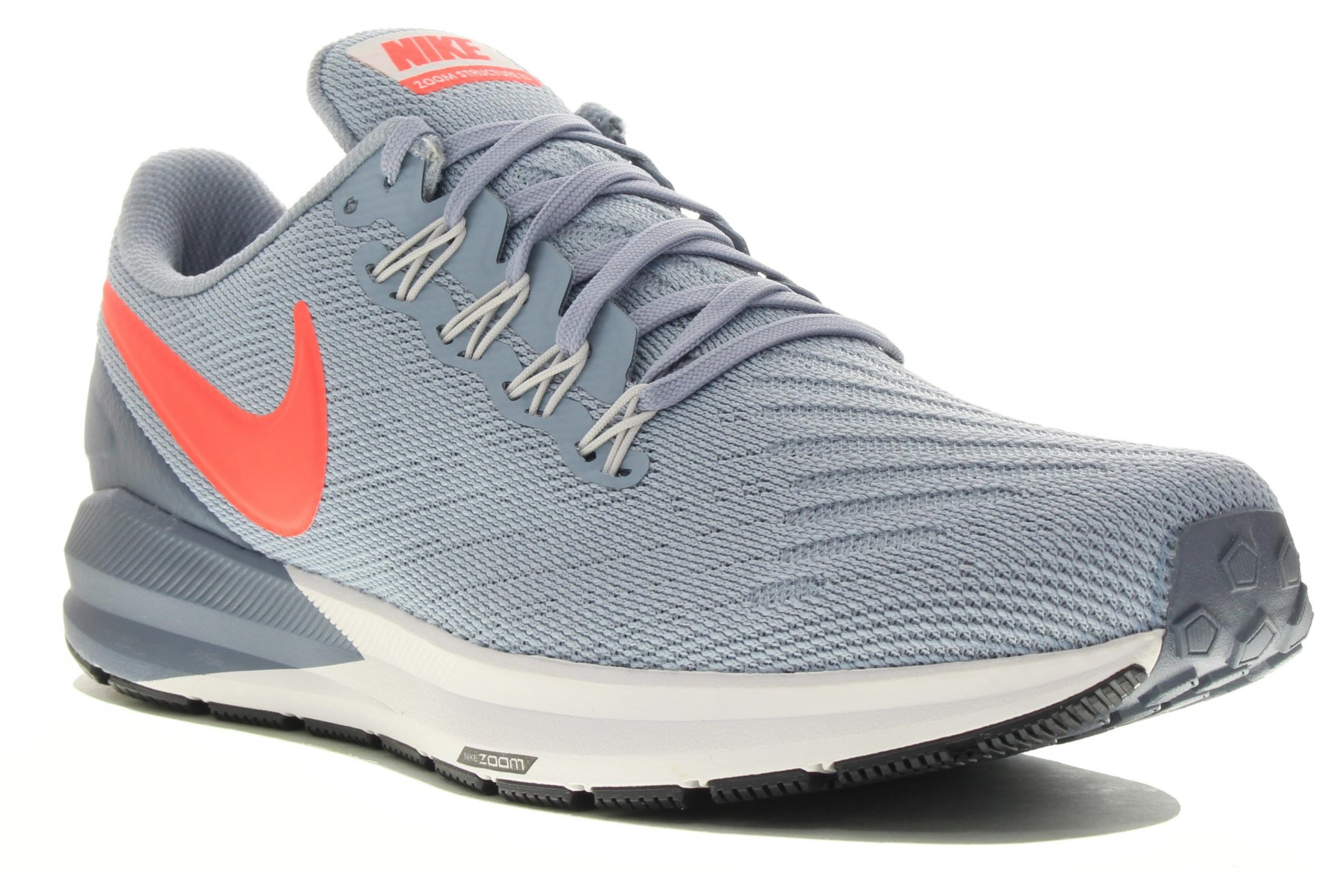 best website 54838 a68bf Nike Air Zoom Structure 20 M homme Bleu pas cher