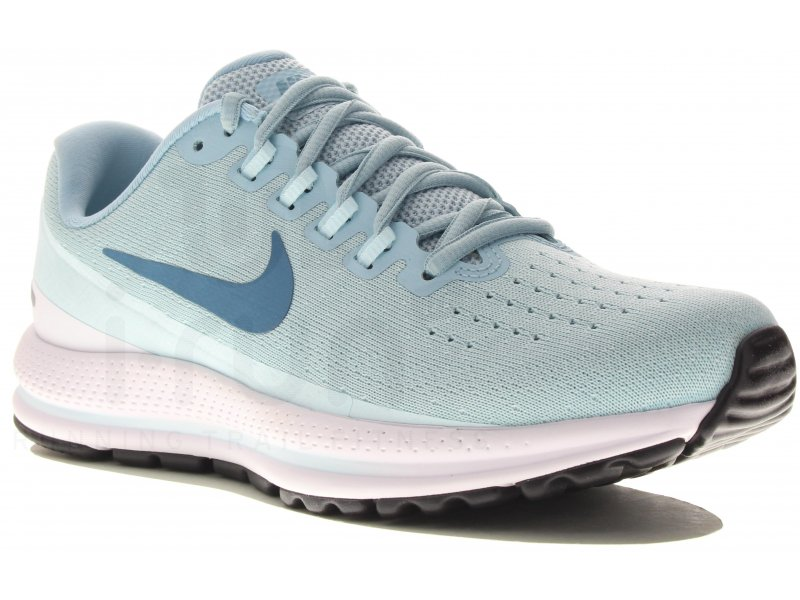 closer at wholesale outlet temperament shoes Nike Air Zoom Vomero 13 W femme Bleu pas cher