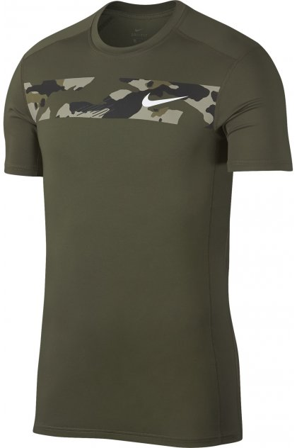 Nike Camiseta manga corta Base Layer Top Camo
