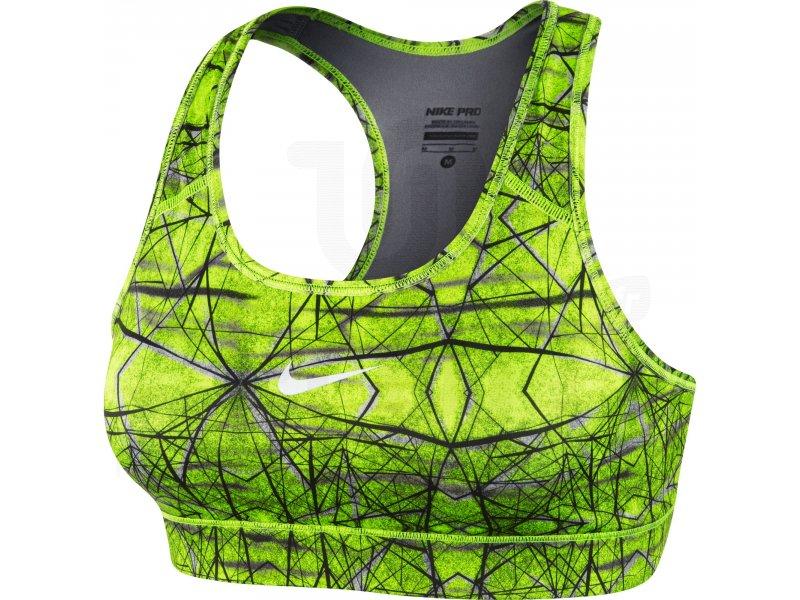 Nike Brassière Nike Pro Printed pas cher - Vêtements femme running  Brassières   soutiens-gorge en promo 728fdcc64ec
