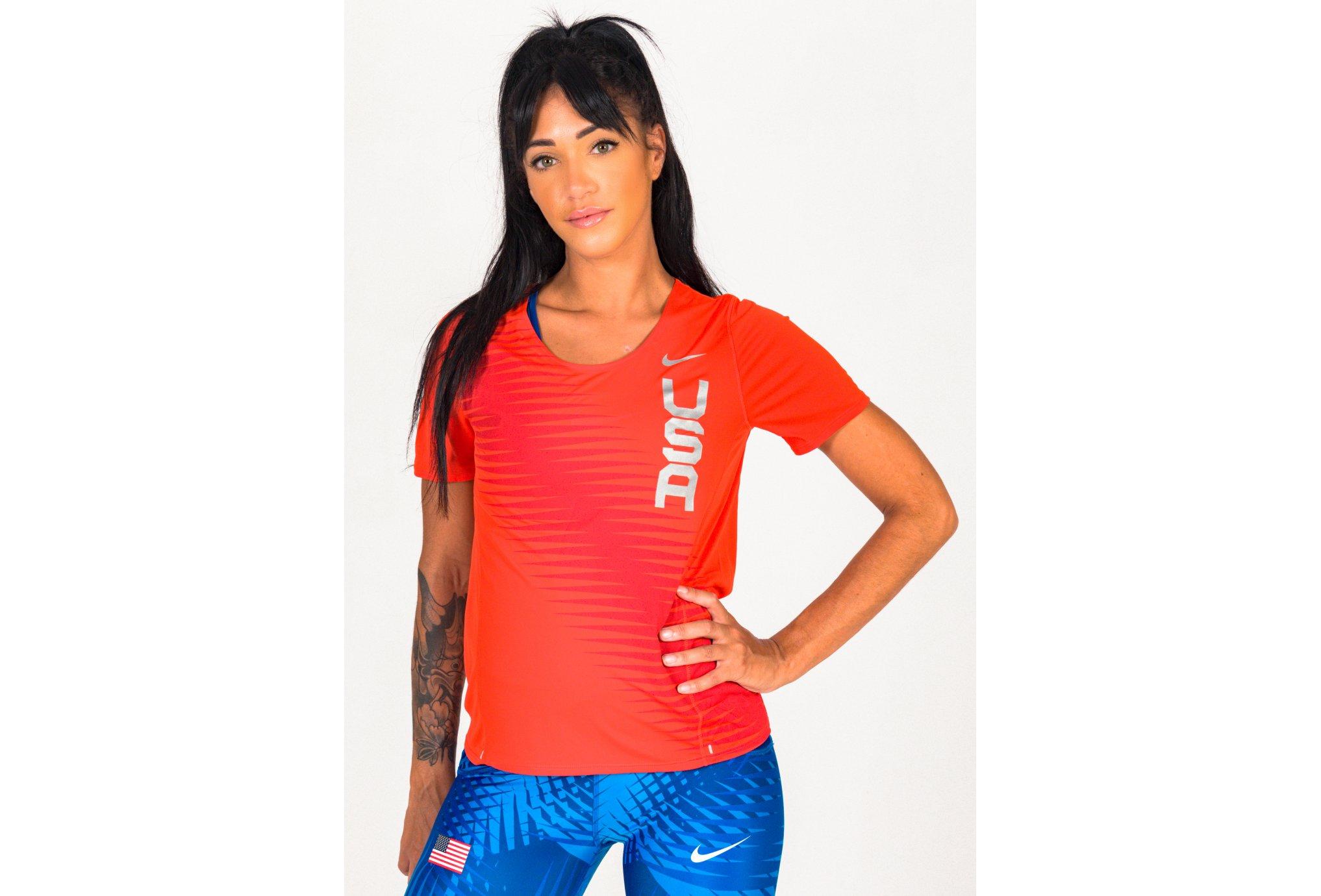 Nike City Sleek Team USA W vêtement running femme