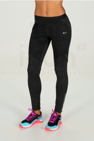 Destockage Nike Femme Vêtements W Shield Pas Running Collant Cher fFawFTqX