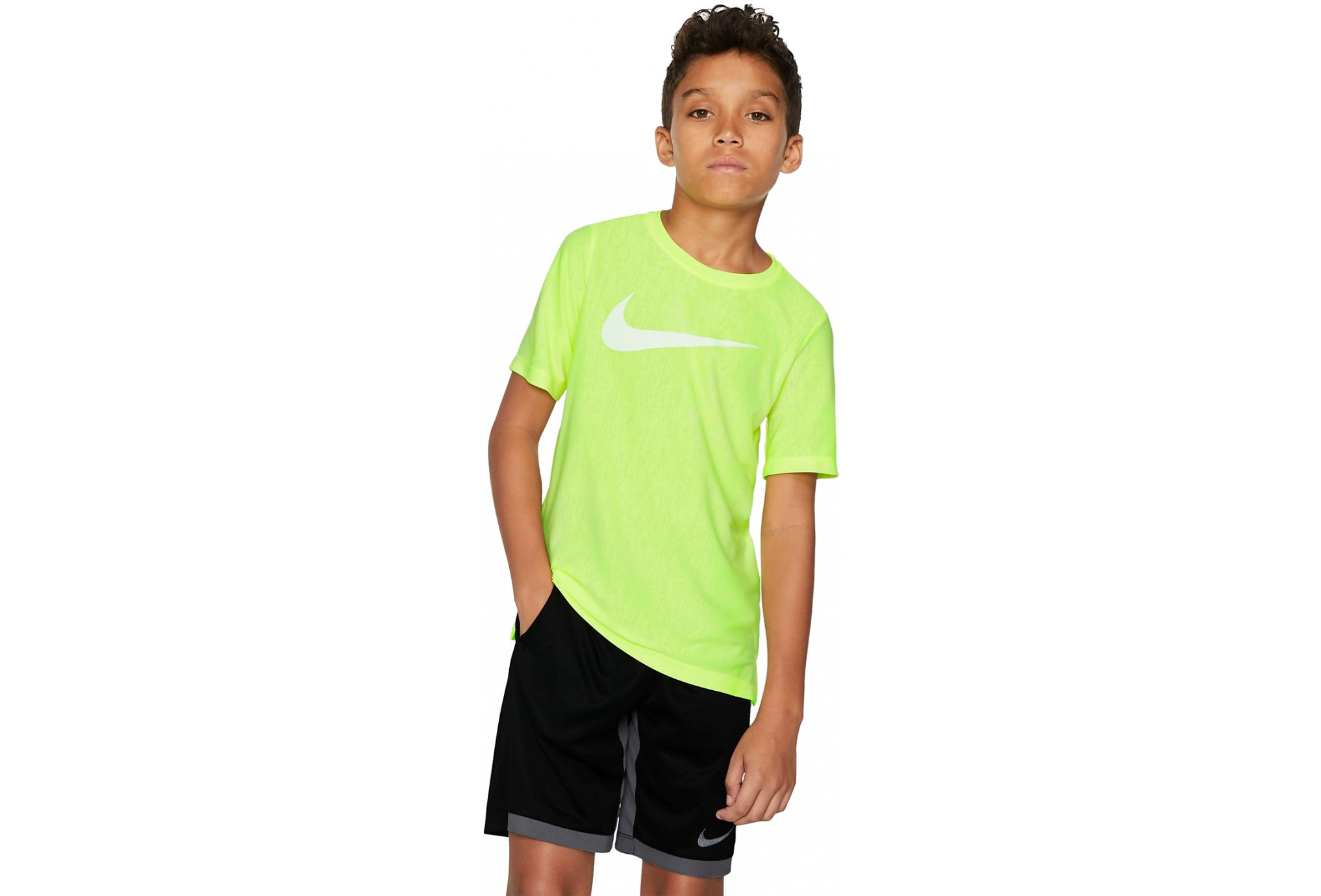 Nike Core Performance Heather Junior vêtement running homme