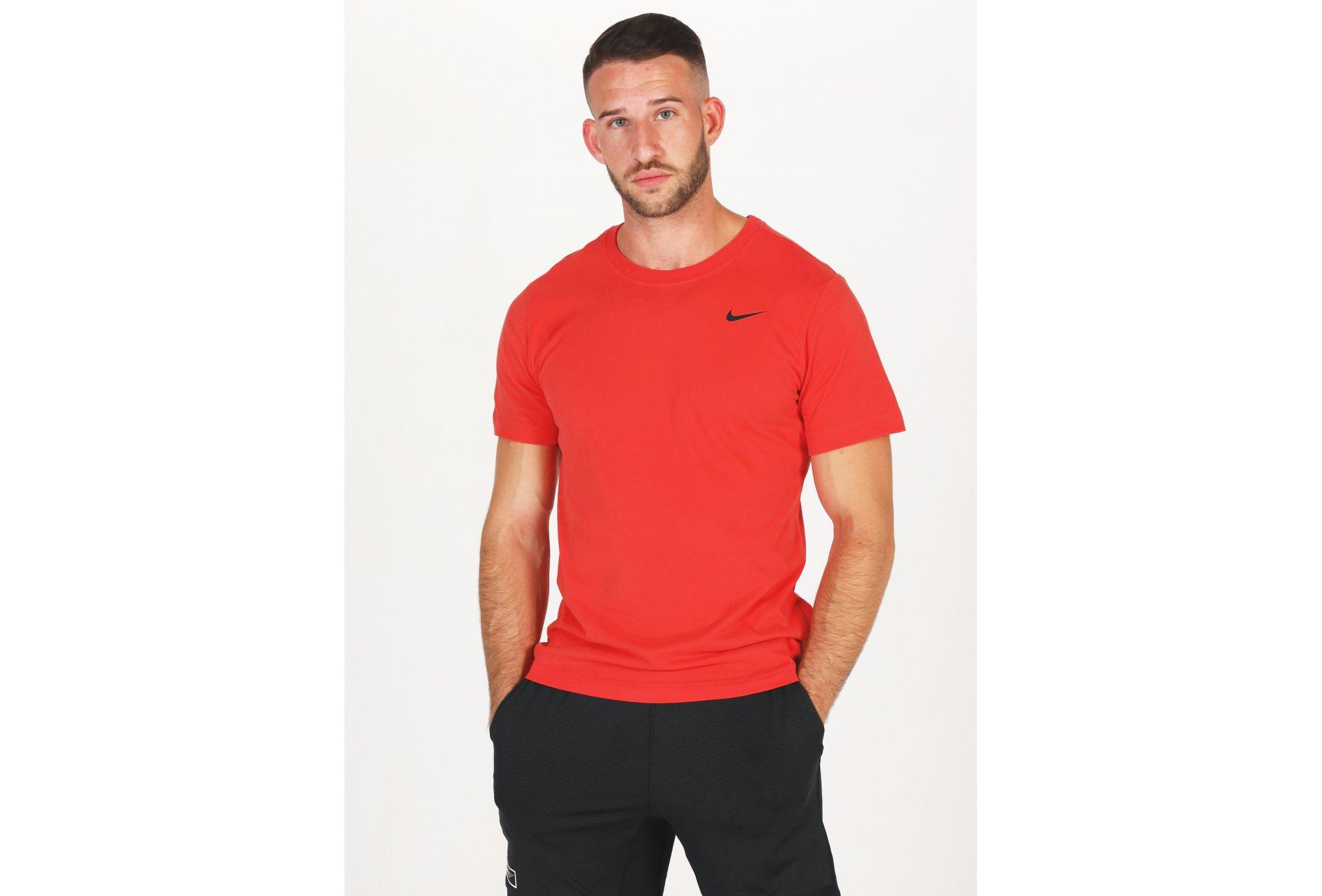 Nike Dfc Solid Crew M vêtement running homme