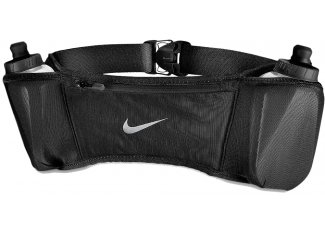 Nike Cinturón de hirdratación Double Pocket Belt