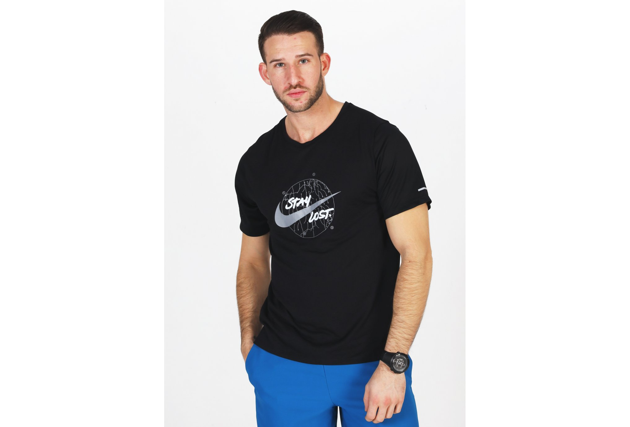 Nike Dri-Fit Miler Wild Run M vêtement running homme