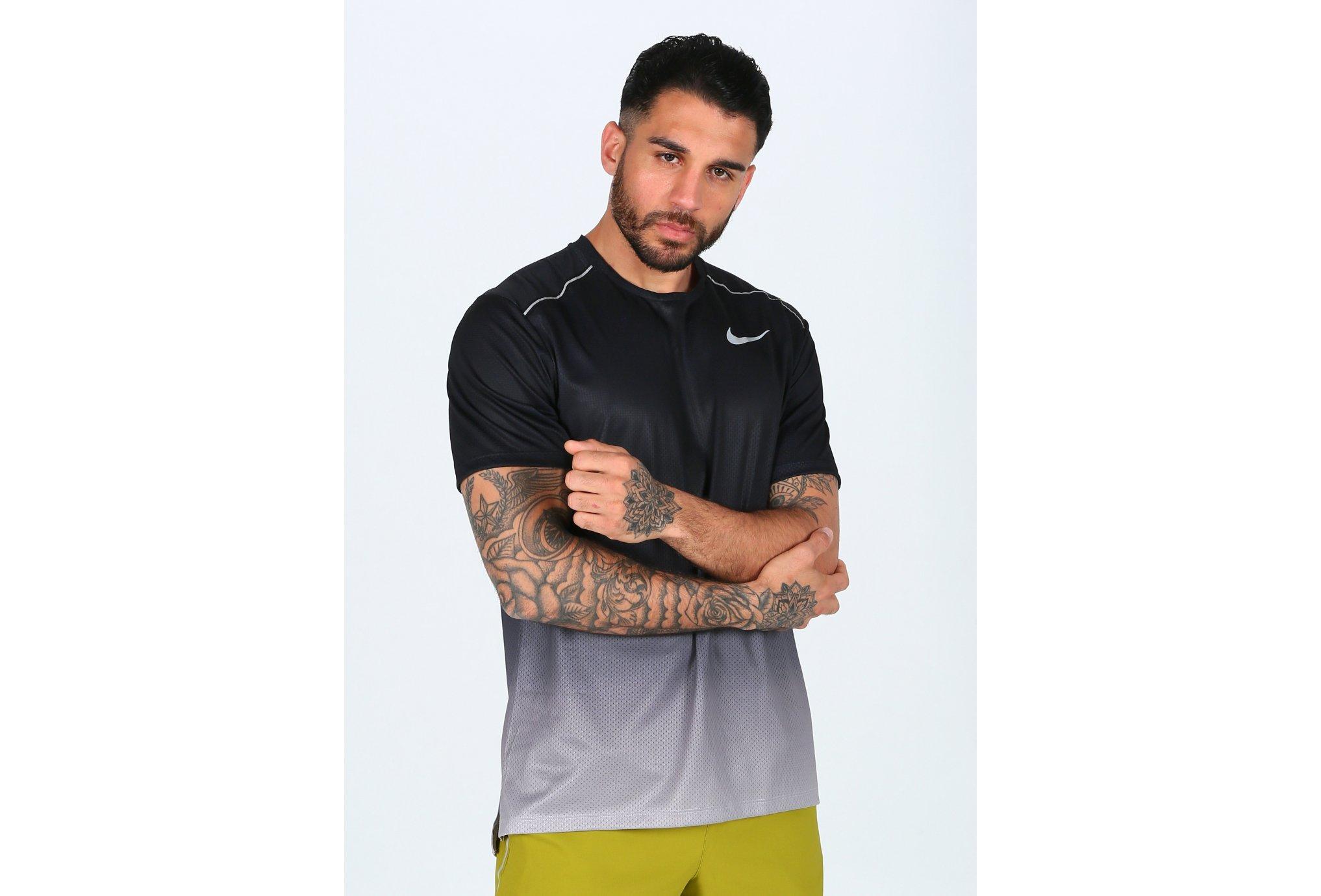 Nike Dry Miler Print M vêtement running homme