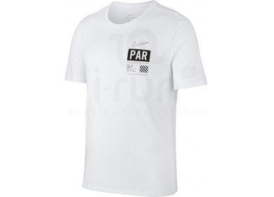 Nike Dry Run Paris M pas cher - Vêtements homme running Manches ... 840109dea66