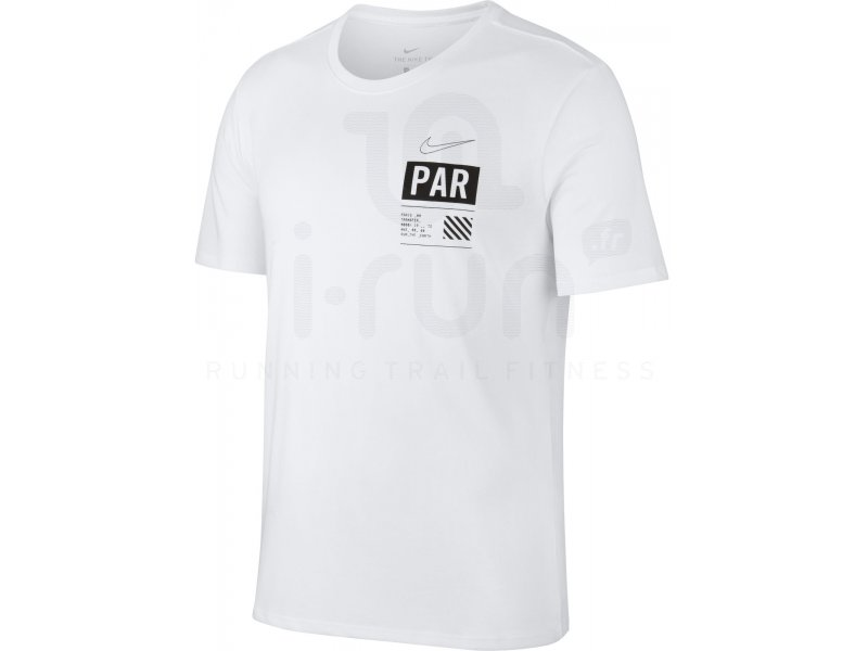 Nike Dry Run Paris M Vêtements homme Manches courtes