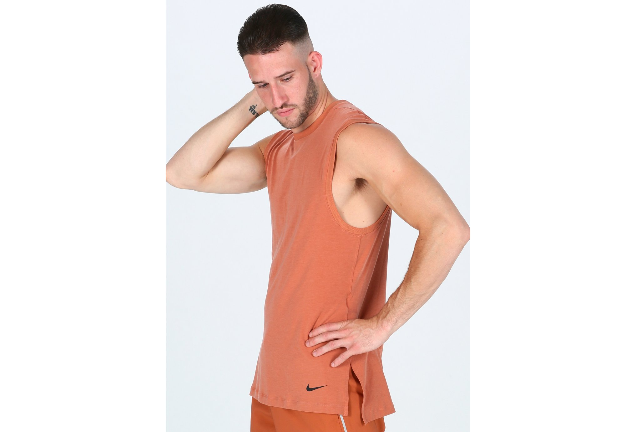Nike Dry Tank Transcend M vêtement running homme