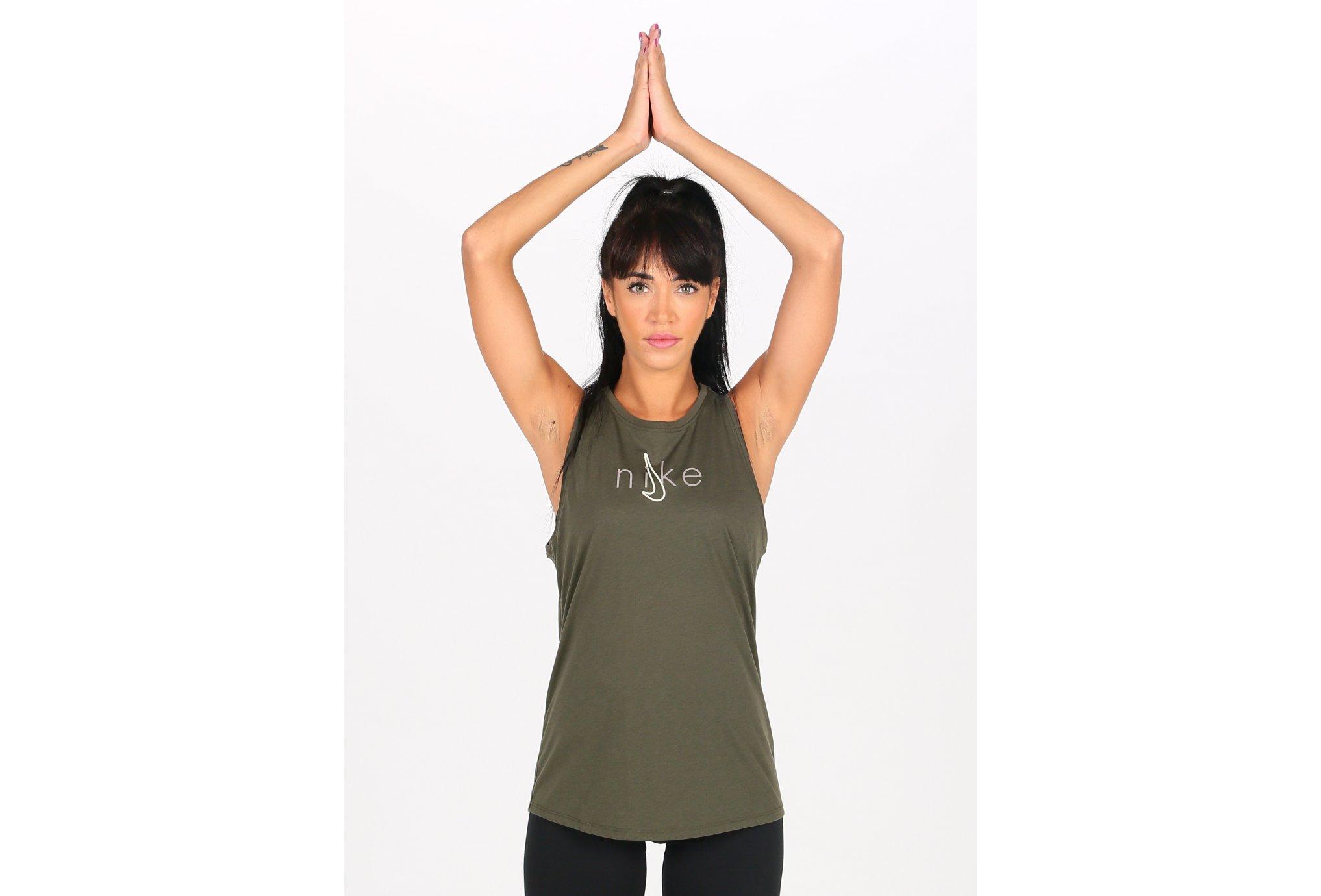 Nike Dry Tank Yoga W vêtement running femme