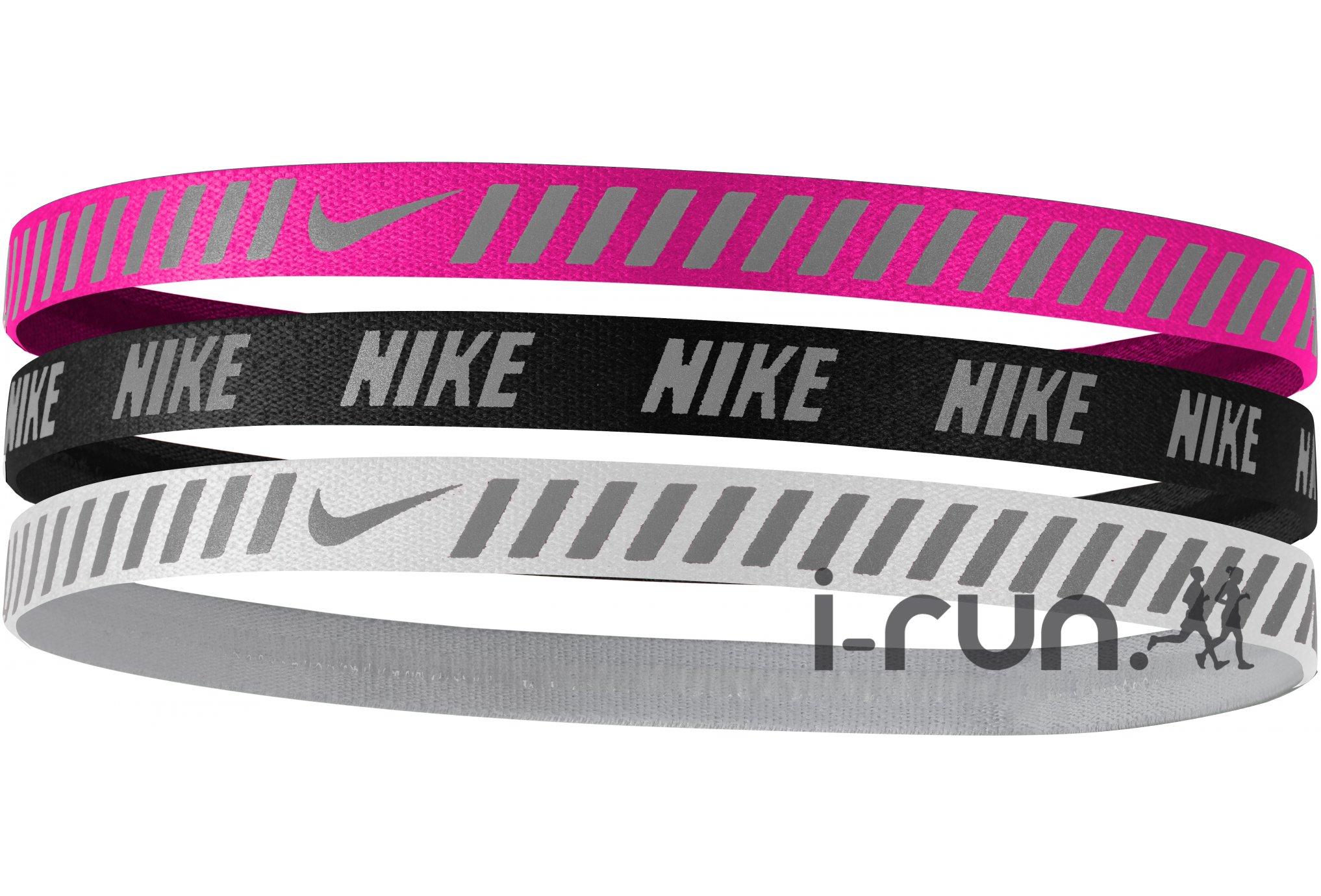 Nike Elastiques Hairband x3 Diététique Accessoires
