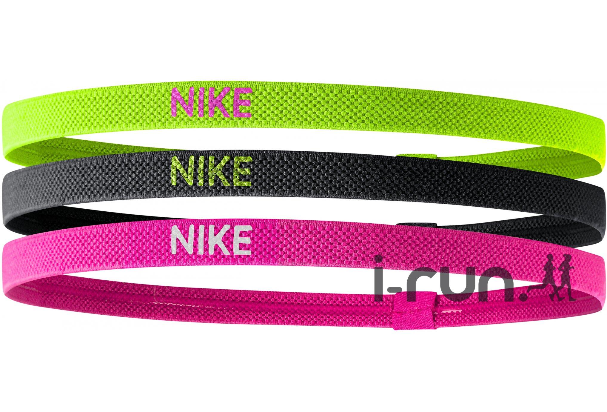 Nike Elastiques Hairbands x3 Casquettes / bandeaux
