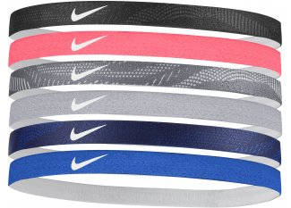 Nike Cintas para el pelo Hairbands x6