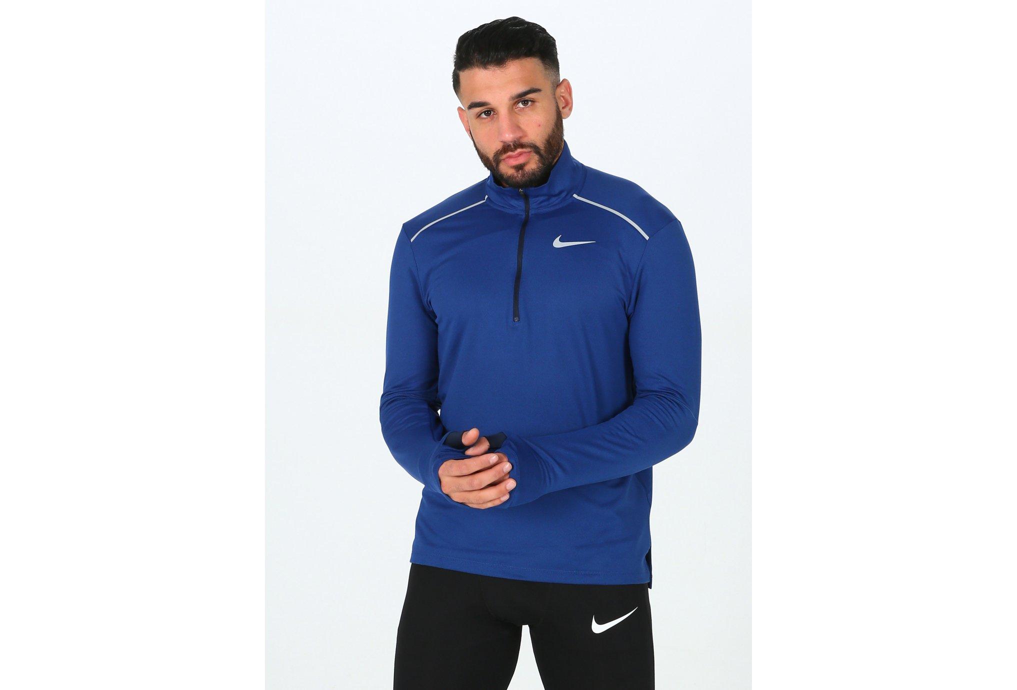 Nike Element Crew 3.0 1/2 Zip Diététique Vêtements homme