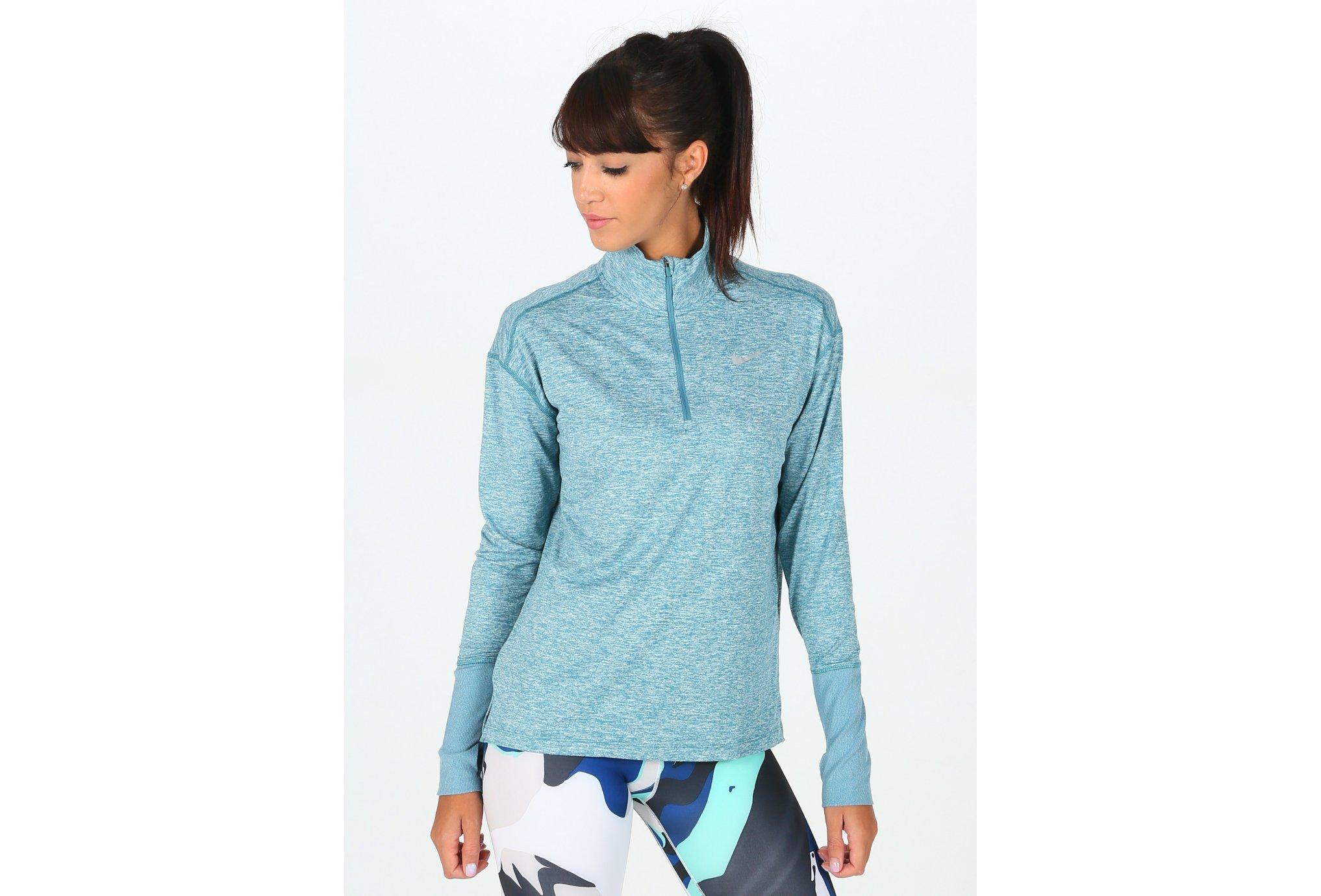 Nike Element Half Zip W Diététique Vêtements femme