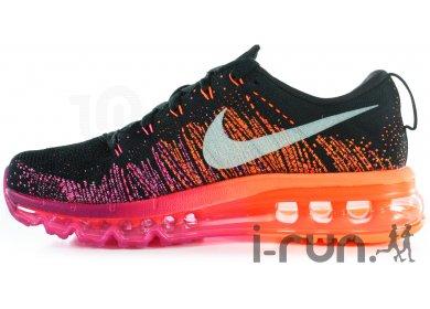 Nike Flyknit Air Max W Chaussures  running Femme  Nike running