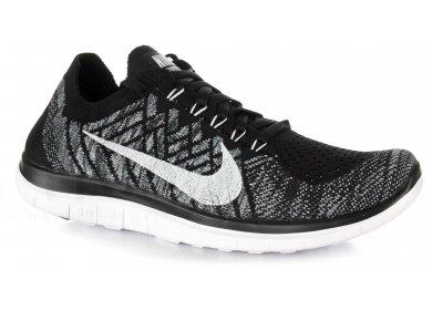 brand new ad787 e3176 Nike Free 4.0 Flyknit W femme Noir pas cher