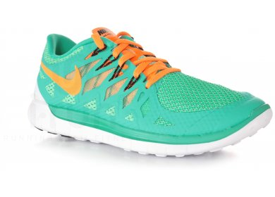 Nike Free 5.0 W pas cher - Destockage running Chaussures femme en promo 6d70d2927b97