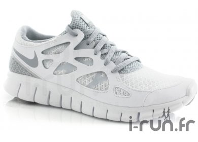 the best attitude a373f 2471f Nike Free Run + 2 W Blanche