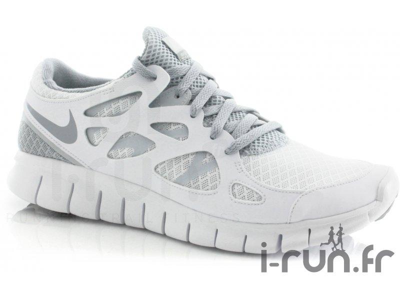 Nike Free Run 2 W Blanche femme pas cher
