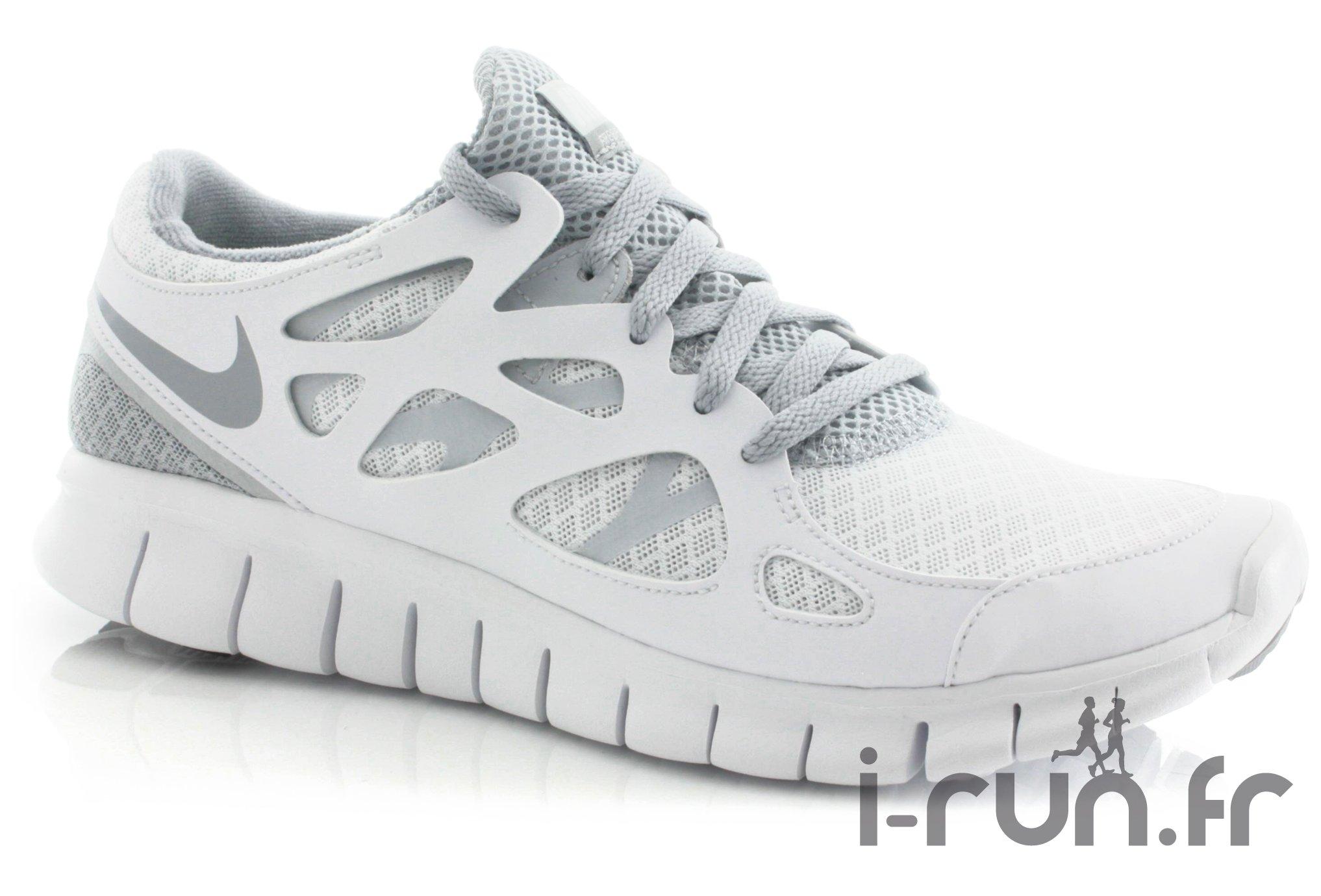 67b30d044ba Nike Free Run + 2 W Blanche femme pas cher