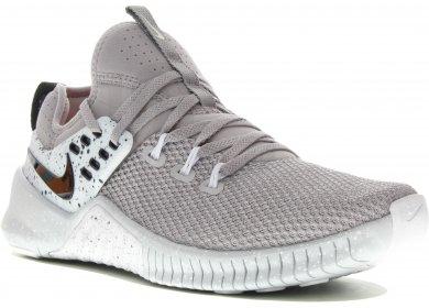Nike Free x Metcon M homme Gris argent pas cher 26417f5a8